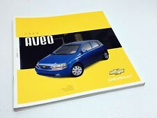2004 Chevrolet Aveo Brochure