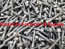 (100) 5/16 x 2 Galvanized Hex Head Flange Lag Bolts / Wood Screws 5/16x2.00