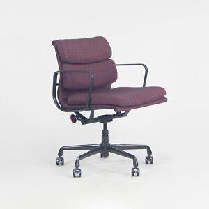 1999 Herman Miller Eames Aluminum Group Soft Pad Management Chair Purple Fabric