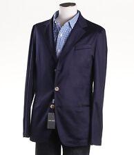 NWT $3495 ARMANI BLACK LABEL Cashmere-Silk Jersey Blazer Slim 40 R Sport Coat