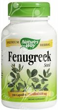 Natures Way, Fenugreek Seed - 610mg x180caps