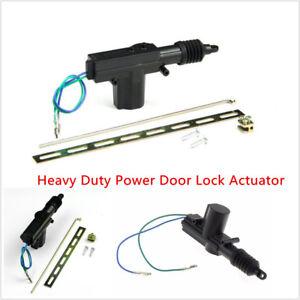 Car Auto Heavy Duty Power Door Lock Actuator Motor 2 Wire 12V Alarms & Security