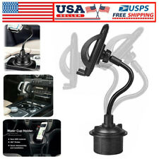 New listing New Universal Adjustable Car Mount Gooseneck Cup Cradle Holder for Cell Phone #r