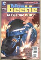 Blue Beetle #15-2013 nm 9.4 low print run 2nd to last issue DC Comics New 52