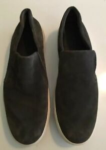 Vince Men's Gray Suede Shoes Slip On 9 M ( Used 3X)