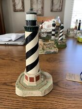 Harbour Lights #102 Cape Hatteras Nc w/Lightning Rod, 1991 #4156 See Photos