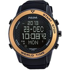 reloj Pulsar Watches Gent's Modern Digital Sports Alarm Chronograph Watch