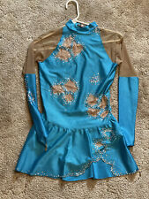 New listing Womens Blue Ice Skating Dress Medium