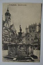 Alte Foto-AK / Ansichtskarte / PK/  ca. 1900: Hildesheim Rolandbrunnen