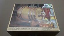 Studio Mercantile Wooden Whiskey Barrel 27oz Ship