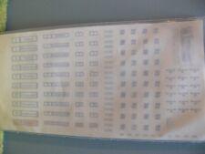 1/87 decals numeri di linea + obiettivo cartelli Saar ferroviario Saarbrücken SPECIALE SERIE REINHA