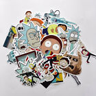 35Pcs/lot Drama Rick and Morty Stickers Decal For Snowboard Laptop Luggage