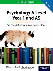 The Complete Companions: AQA Psychology Year 1 and AS Stude... by Flanagan, Cara