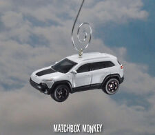 2013 Custom Jeep Cherokee Trailhawk Christmas Ornament Sport w/ Blacked out Rims