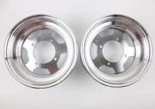 "F 3.50x8"" R 3.50x8"" Offset Rims Wheels F Honda Monkey Z50 Z50R Z50J Bike 90MM #6"