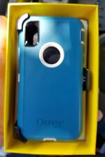 OTTERBOX Defender Case with Belt Clip Holster For iPhone X Blue BRAND NEW in BOX