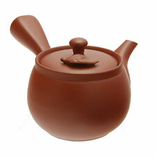 1pc Japanese Kyusu Tokoname Red Tea Leaf   Tea Pot for Made In Japan #115-818