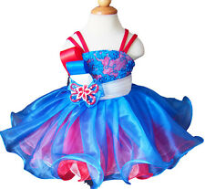 Infant/toddler/kids/baby/Girl's Pageant/prom/formal Dress size1-size7 G124