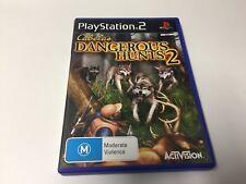 PS2 GAME CABELAS DANGEROUS HUNTS 2