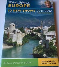 Rick Steve's Europe 10 new shows 2011-2012 Brand New/Sealed!