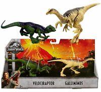 Jurassic World Park Fallen Kingdom Dinosaur 2 Pack Velociraptor & Gallimimus