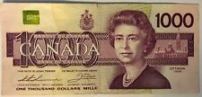 1988 - BANK OF CANADA ~ $1,000.00 ~ ONE THOUSAND DOLLAR ~ EF Condition
