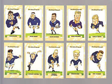 CIGARETTE/TRADE/CARDS.Daily Telegraph. RUGBY WORLD CUP 1995. (SCOTLAND).(Set 26)