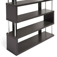 Baxton Studio Barnes 6 Shelf Bookcase