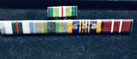 Ribbon Bar AASM, Interfet, ASM, DLSM & ADM WITH 3 Rosettes. #medals #vet #army