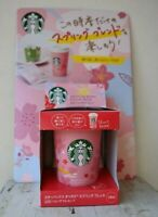 Starbucks Japan, Origami, Reusable Cup, Sakura Cherry Blossom Cup & Spring Blend