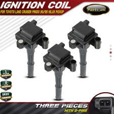 3x Ignition Coils for Toyota Land Cruiser Prado 90 Hilux 4 Runner 5VZ-FE 3.4L