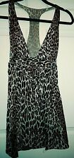 Vintage 1970's Leopard Print Sexy T-Back Teddy Negligee (Xs?)