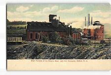 jwf29h: EMPIRE STEEL & IRON CO OXFORD NJ,Circa 1908 Litho-Chrome postcard