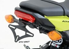 R&G RACING BLACK TAIL TIDY Honda MSX125 GROM 125) 2016-2017 WITH OEM INDICATORS
