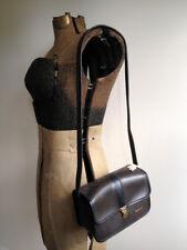 Vintage Kodak Dark Brown & Black Field Case Camera Carrying Bag vtg 80s 90s