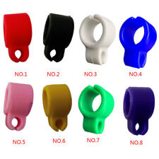 Cigarette Holder Hand Silicone Ring Finger Rack Smoke Gaming Purple