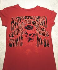 Grateful Dead T Shirt Hippy Authentic Artists Logo Travel Tour Band L girls