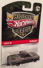 MOMC 2009 Hot Wheels Military Rods  GORGEOUS '83 Chevy Silverado Pickup Truck