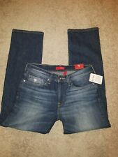 MENS GUESS JEANS SIZE 31 30 DARK AMBLE STRETCH LINCOLN STRAIGHT NEW