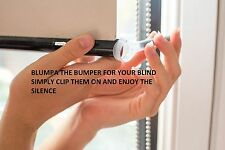 STOP your blinds banging with Blumpa the roller blind bumper. ROUND OR OVAL ??