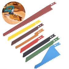 8pcs New Jig Saw Blades Sabre Scroll Assortment Set for Wood Metal Steel Cutting