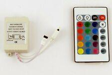 24 Key IR Remote Controller Box AC/DC 12V For 3528 5050 RGB LED Strip Light