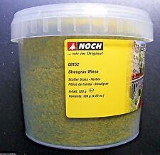 (100g=7,49€) NOCH 08152 Streugras Wiese, 2,5 mm lang, 120g Dose, Neu
