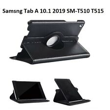 Samsung Galaxy Tab A 10.1 (2019) Case Leather Folio Stand Cover SM-T510 T515