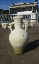 Anfora Terracotta con manici vaso giardino arredo 80 cm no cemento .