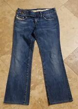 Diesel Industry Medium Wash 30x27 Cherone Jeans Blue Pants Womens
