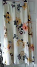 BNWTS Per Una Maxi Skirt Cream Floral Size 10 Long Lined Party Wedding £39.50