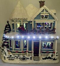 Hawthorne Village Thomas Kinkade The Night Before Christmas Story House 2004