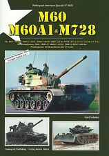 Tankograd 3021: M60, M60A1 & M728 In Service With The US Army