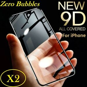 X2 Apple iPhone 11 XR Xs-Max Screen Protector Full Cover Tempered Glass